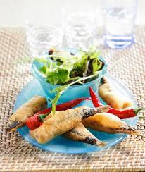 comment cuisiner des filets de sardines recette filets et sardines entières façon tempura 750g