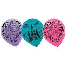 frozen balloons frozen 12 inch balloons bartz s party stores