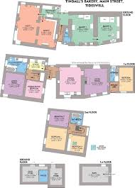 Floor Plan For Bakery 4 Bedroom Town House For Sale In Tindalls Bakery Deli Commercial