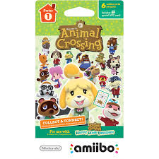 amiibo animal crossing happy home designer trading cards