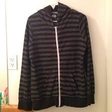 vans striped vans zip up hoodie from rae u0027s closet on poshmark