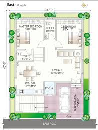 30x40 house floor plans individual house plan north facing list disign navya homes