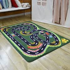kids room rug kids cute owl print green rug design for kids room