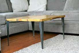 metal end table legs combining different styles of metal legs