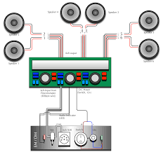 mono amp to sub plus 4 channel speakers wiring diagram in 5