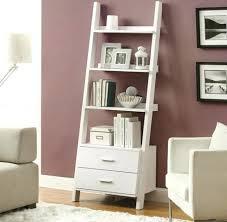 Corner Bookcase Canada Bookcase White Ladder Bookcase Design Furniture White Leaning