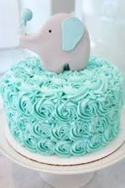 baby boy cakes elephant baby shower cake for a boy blue fondant cake with white