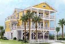 small beach house on stilts coastal house plans elevated home decor 2018