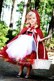 Tutu Dress Halloween Costume Red Riding Hood Tutu Dress Cape Halloween Costume