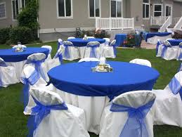 Wedding Reception Centerpieces Blue And White Wedding Reception Decorations Blue And White