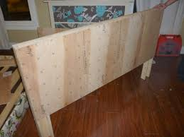 How To Make Your Own Headboard And Footboard Make Your Own Upholstered Bed In One Weekend