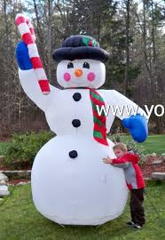 Frosty The Snowman Outdoor Decoration Yolloy Christmas Blow Up Snowman For Sale