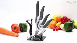 Good Kitchen Knives Set Kcasa Kf 2 5 Pieces Ceramic Knife Set With Holder Kitchen Chef