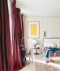Wine Colored Curtains The 26 Most Beautiful Bedrooms In Vogue Homes And Interiors