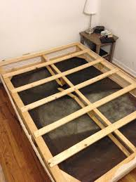 creaking box spring into bed slats 5 steps