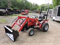 mahindra max 24 hst 4wd tractor loader for sale in belchertown ma