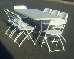 cheap tables and chairs for rent rental equipment more world jumping castles