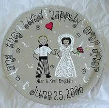 and groom plates painted and groom plate combine your special memories