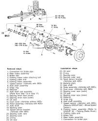 repair guides rear axle rear axle shafts bearings and seals
