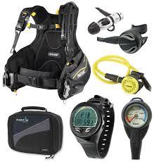 amazon com oceanic scuba diving gear equipment package bcd