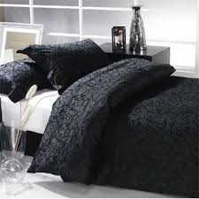 King Black Comforter Set Love This With Red Accents Yes Please Daniadown Bedding Paris