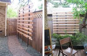 simple decoration yard privacy screen agreeable garden design