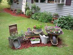 Rustic Garden Ideas Awesome To Give A Country Look To Front Flower Bed Home Decor