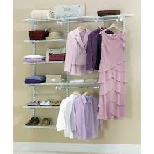Rubbermaid Closet Organizer Parts Rubbermaid Configurations Add On Shoe Shelf Kit White Hayneedle