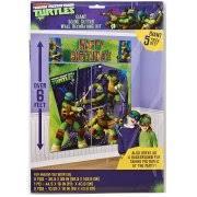 Ninja Turtle Wall Decor Teenage Mutant Ninja Turtles Party Supplies