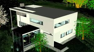gropius house 3ds max youtube