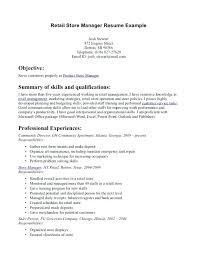 retail manager resume retail manager resume exles sweet partner info
