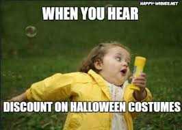 Halloween Costume Discount Funny Halloween Costume Memes Happy Wishes