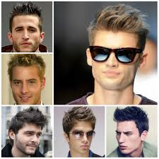 Mens Hairstyle By Face Shape by The Right Haircut For Men U0027s Face Shapes Oneapps