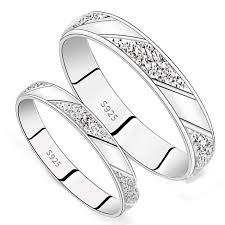 silver wedding ring design a silver wedding set rings andino jewellery