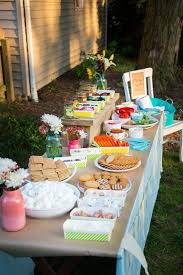 Backyard Parties 441 Best S U0027mores Bar Images On Pinterest Graduation Parties