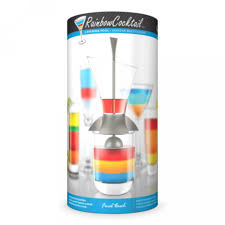 rainbow cocktail drink final touch rainbow bar cocktail drink layering tool