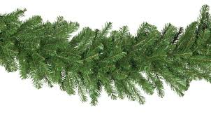 artificial garland olympia pine commercial unlit