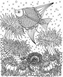 free challenging under the sea coloring pages for adults enjoy