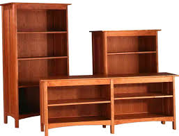furniture wood bookcase with glass doors with mission style bookcase
