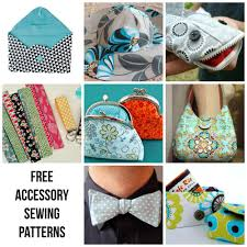 free accessory patterns to sew today