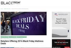 black friday mattress sale amerisleep honest mattress reviews