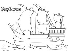 pilgrims coloring pages virtren com