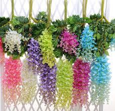 bulk artificial flowers simulation wisteria garland craft wedding decoration artificial