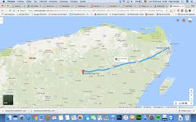 Map Google Com How Long Does It Take To Go From Cancun To Chichen Itza All