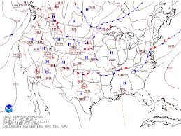 frontal boundary map weather event during chicago mac scuttlebutt sailing