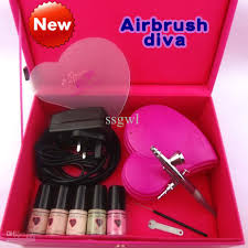 airbrush makeup kit airbrushdiva hd gun spray makeup days