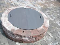 Outdoor Firepit Cover Special Discount Steel Pit Cover Snuffer