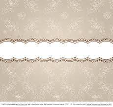 patterned ribbon free beige floral pattern ribbon background vector