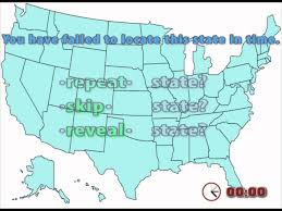 State Map Games by Youtube Interactive Map Quiz Game United States Locations Youtube