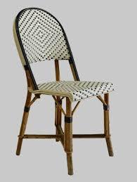 Bistro Chairs Uk 4 Bistro Chairs Woven Maison Gatti Rattan Style In